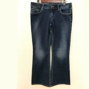 Silver Jeans AIKO Bootcut Jeans WGW Distressed